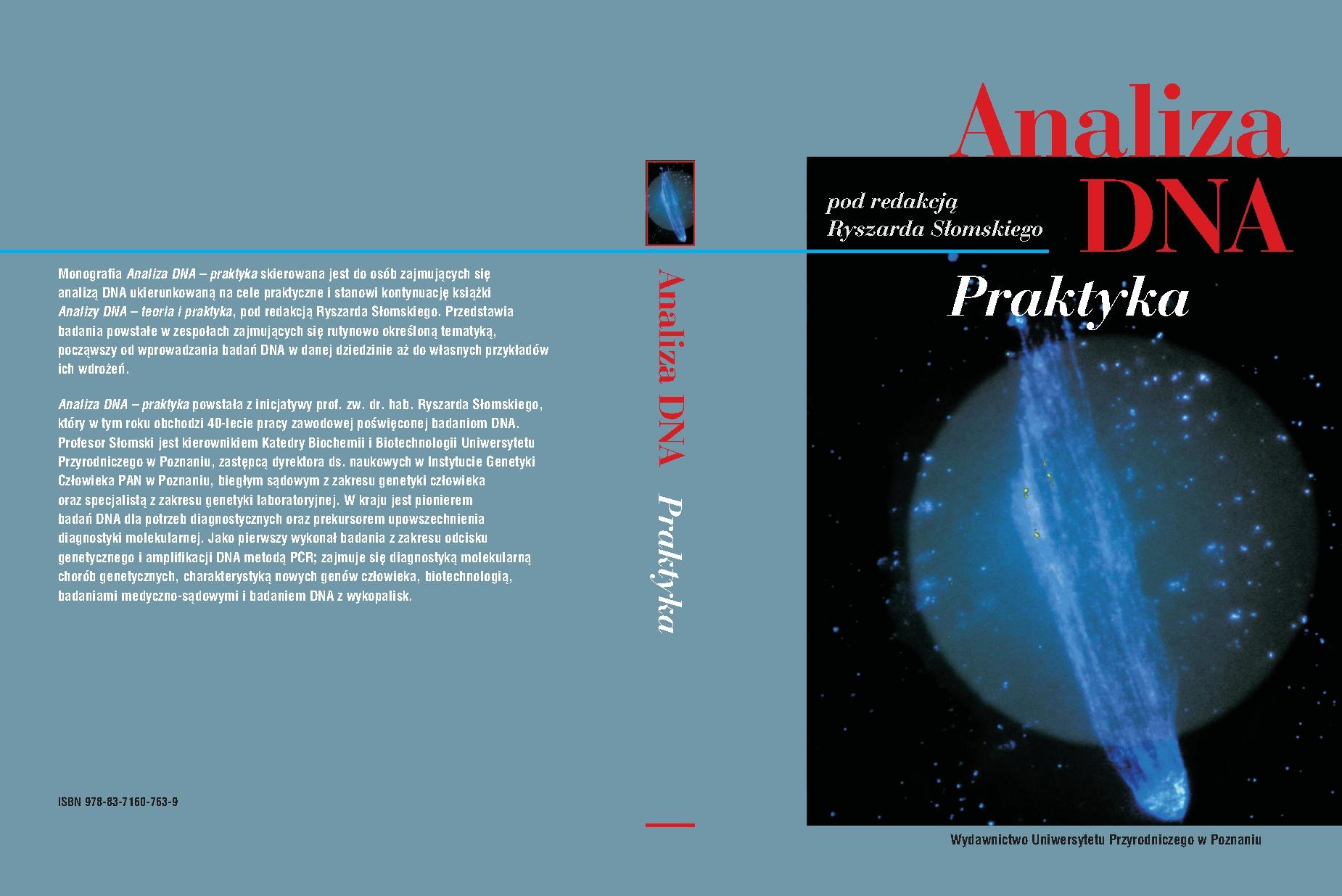 Analiza DNA - Praktyka - wyroznienie