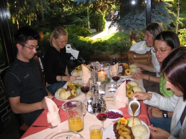 Uroczysta kolacja w Hacjendzie